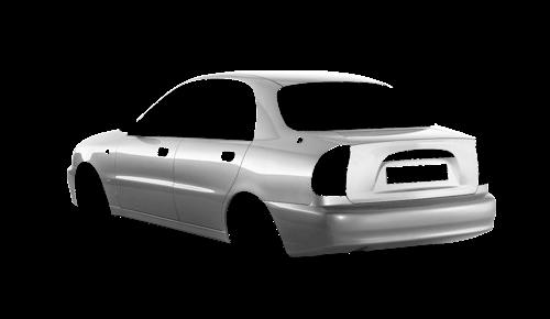 Цвета кузова Lanos T150